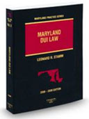 Maryland DUI Law